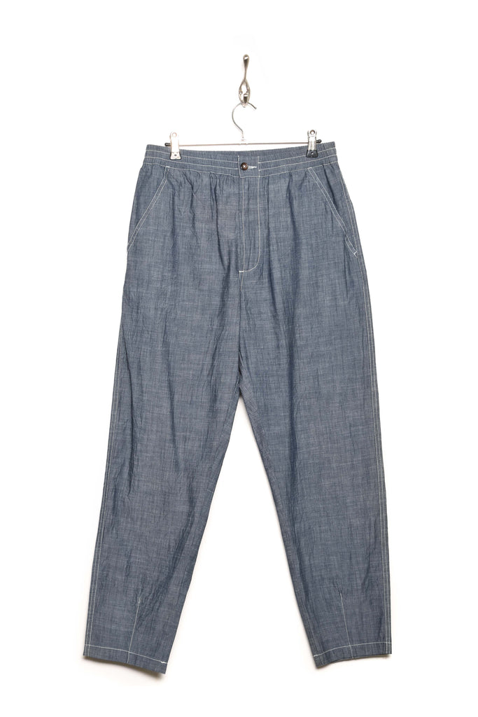 Universal Works Track Trouser chambray indigo 22191