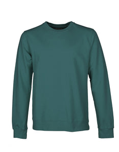 Crew Sweat ocean green