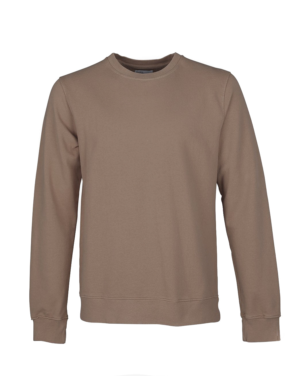 Crew Sweat warm taupe
