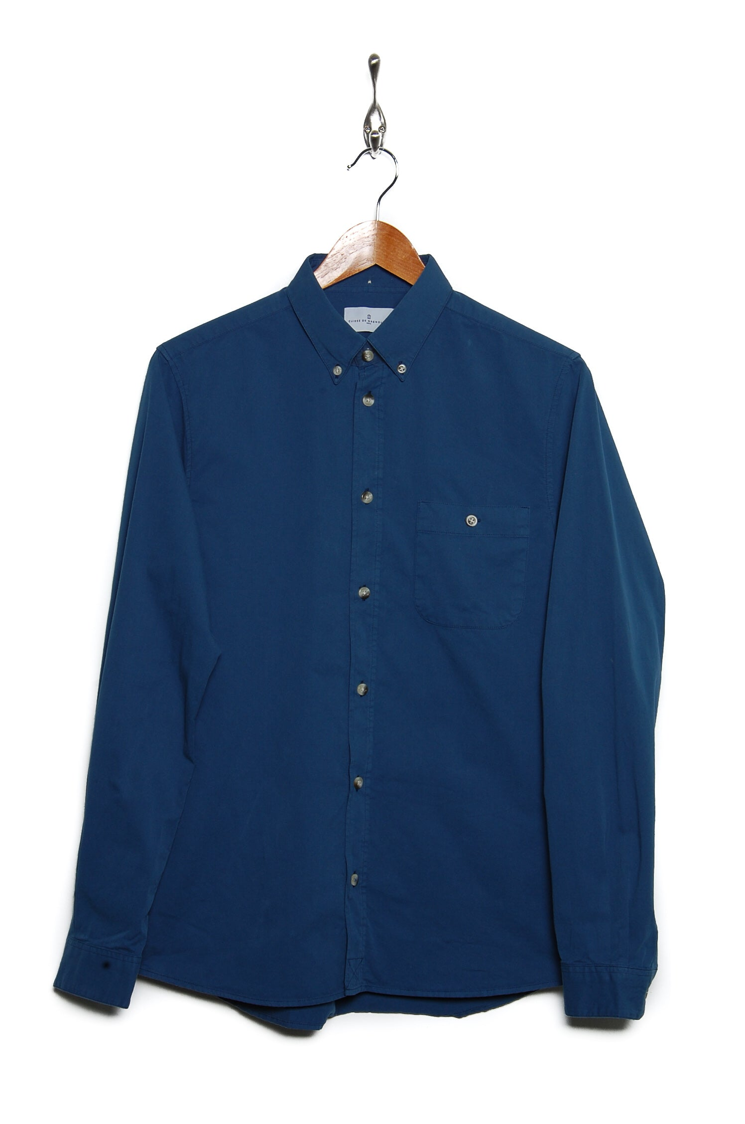 Cuisse de Grenouille Griffon button down indian blue
