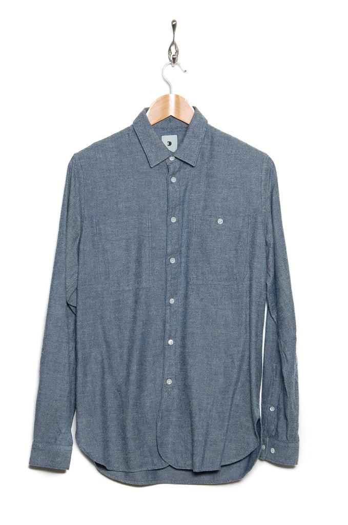 Delikatessen Farmer Shirt D1612/MA24 japanese denim