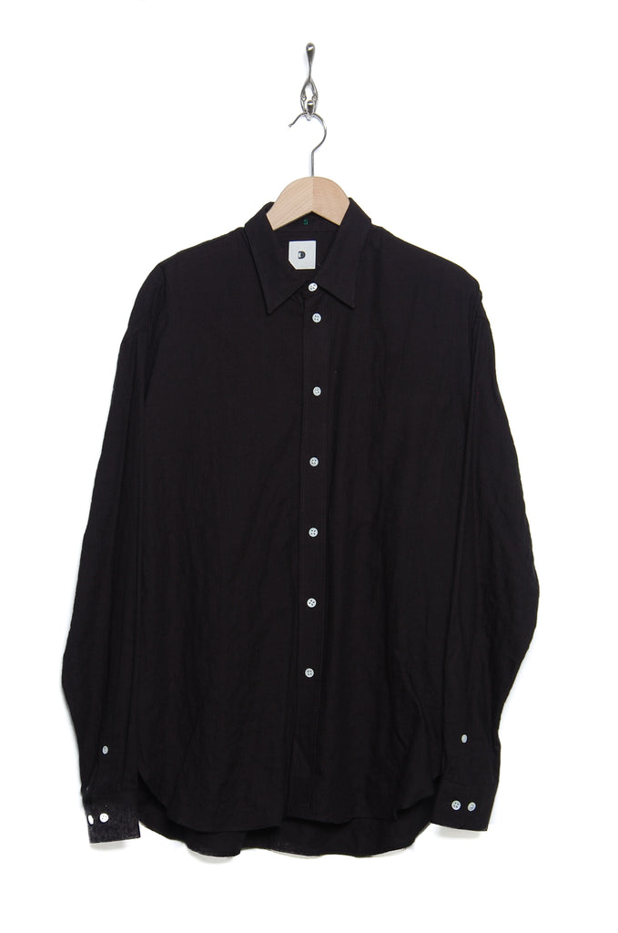 Delikatessen Oversized Shirt D756/black tencel