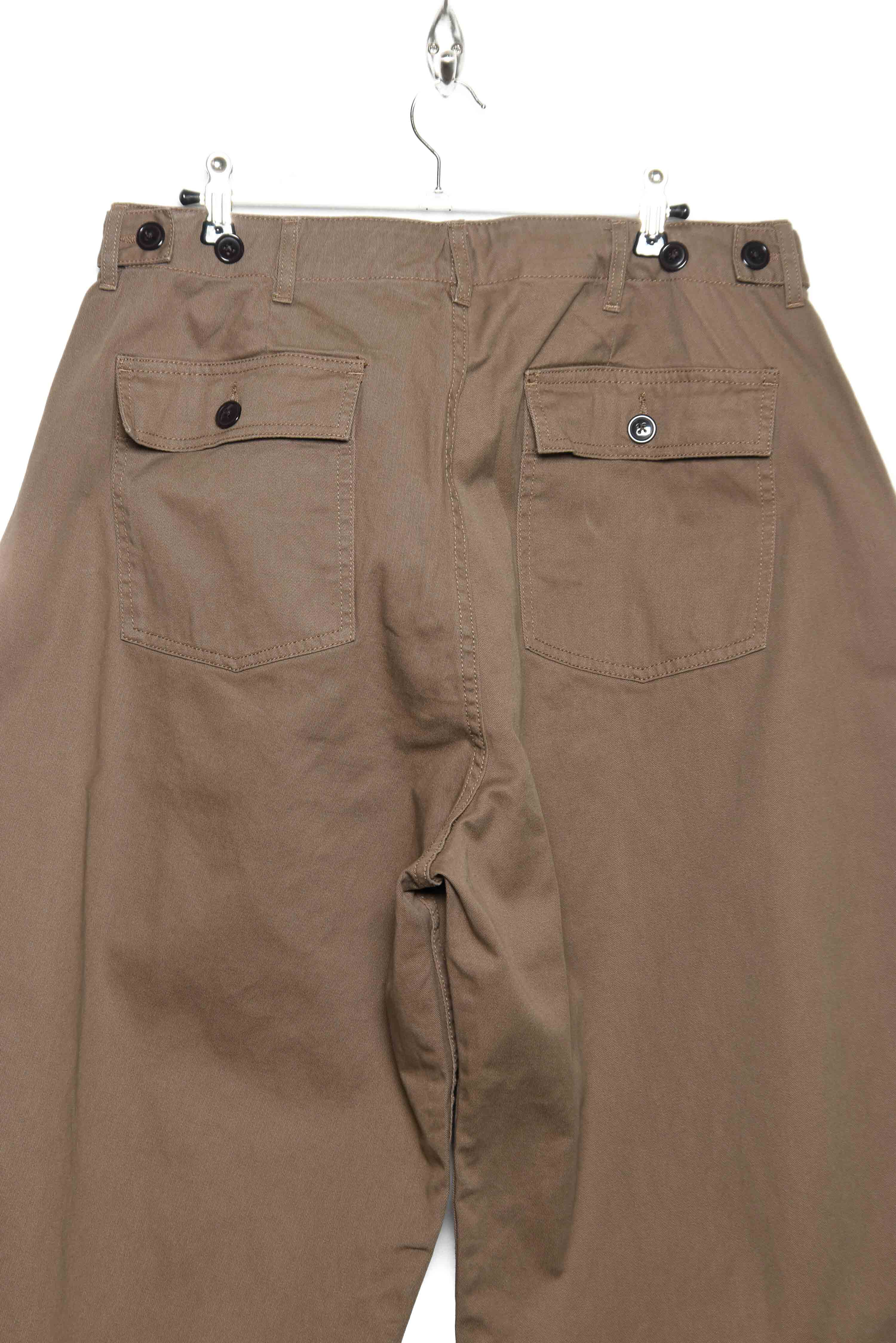 Workware Unisex Baker Balloon Pants brown