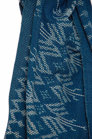 Indigo People Eden Scarf Ikat Shield & Spear