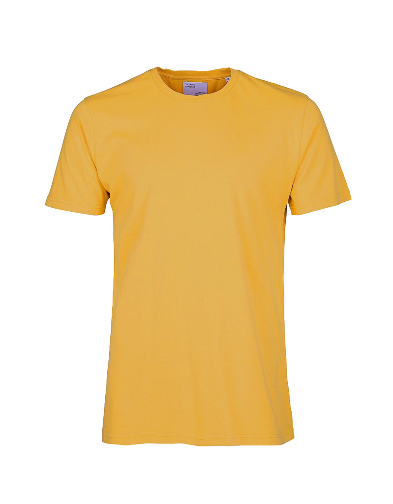 Colorful Standard Classic Tee burned yellow