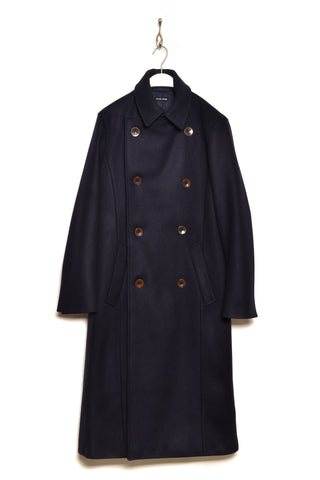 Frank Leder Heavy Wool Coat M016/02 navy39