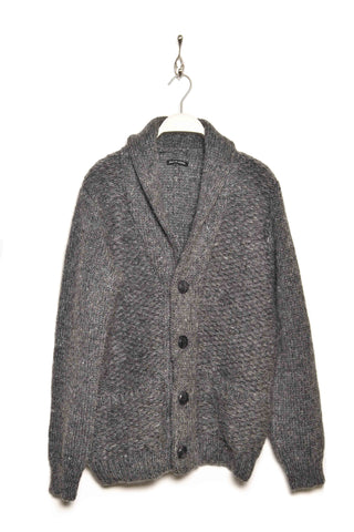 Frank Leder Strick Cardigan KNIT 5 grey95
