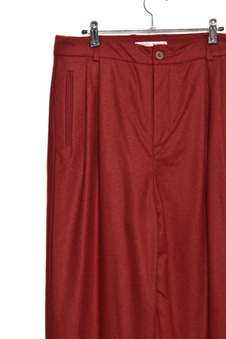 Frank Leder Wool Loden Trousers M005/03 red75