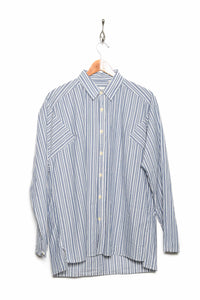 Oliver Spencer Gibson Shirt Chamberlain blue