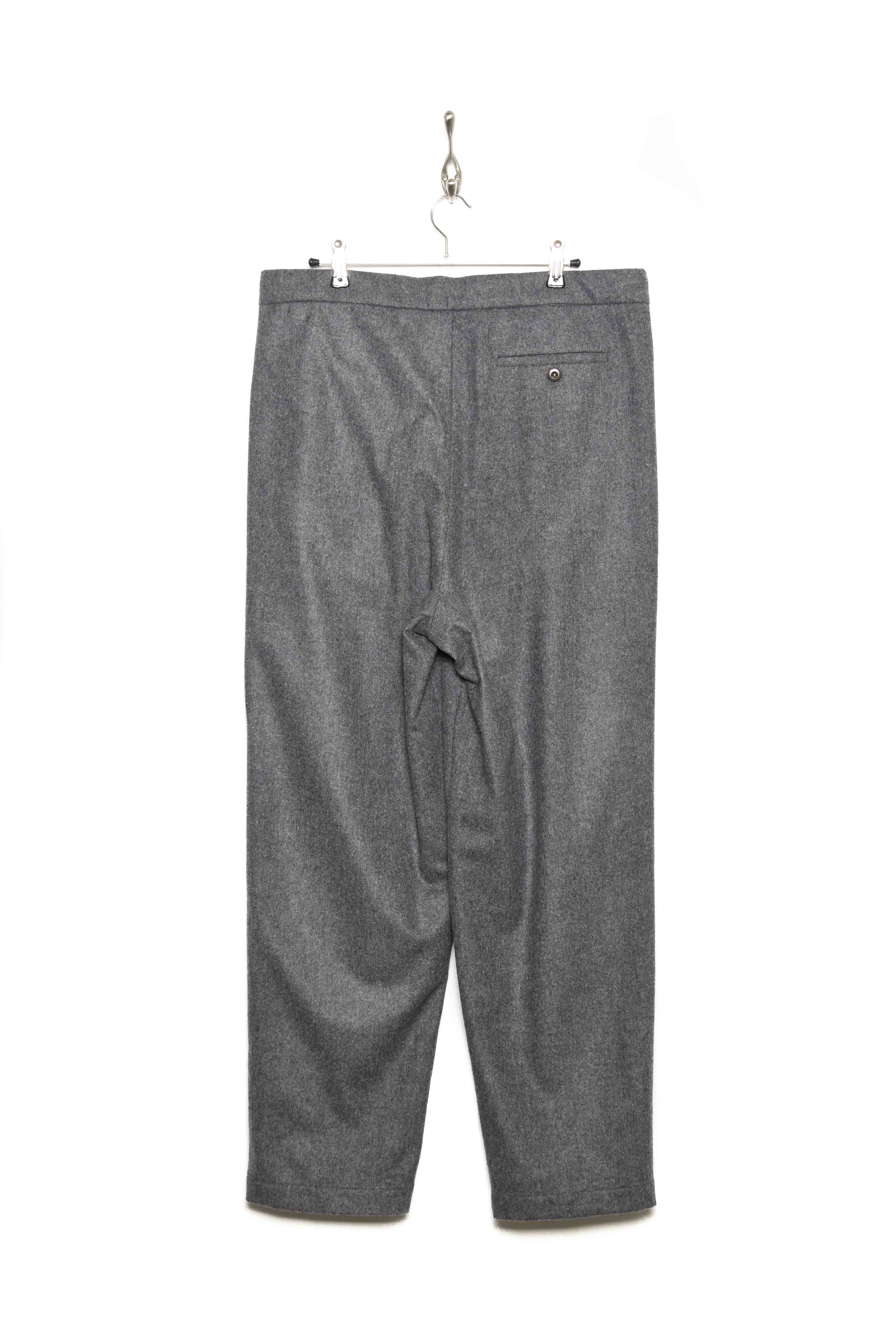 Loden Wool Drawstring Trousers Loden 10 grey 95