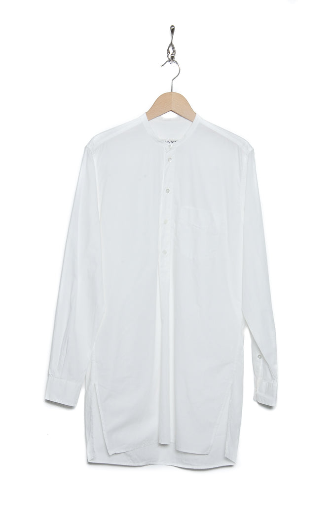 Hansen 17-14-1 Arild long collarless pull white