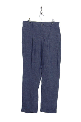 Hansen 15-36-3 Mads loose fit trousers blue delave