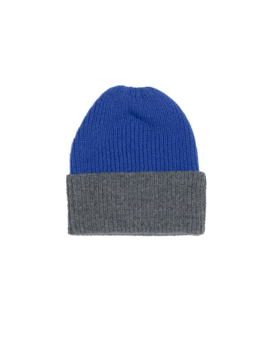 Contrast Rib hat 24-5 blue/grey