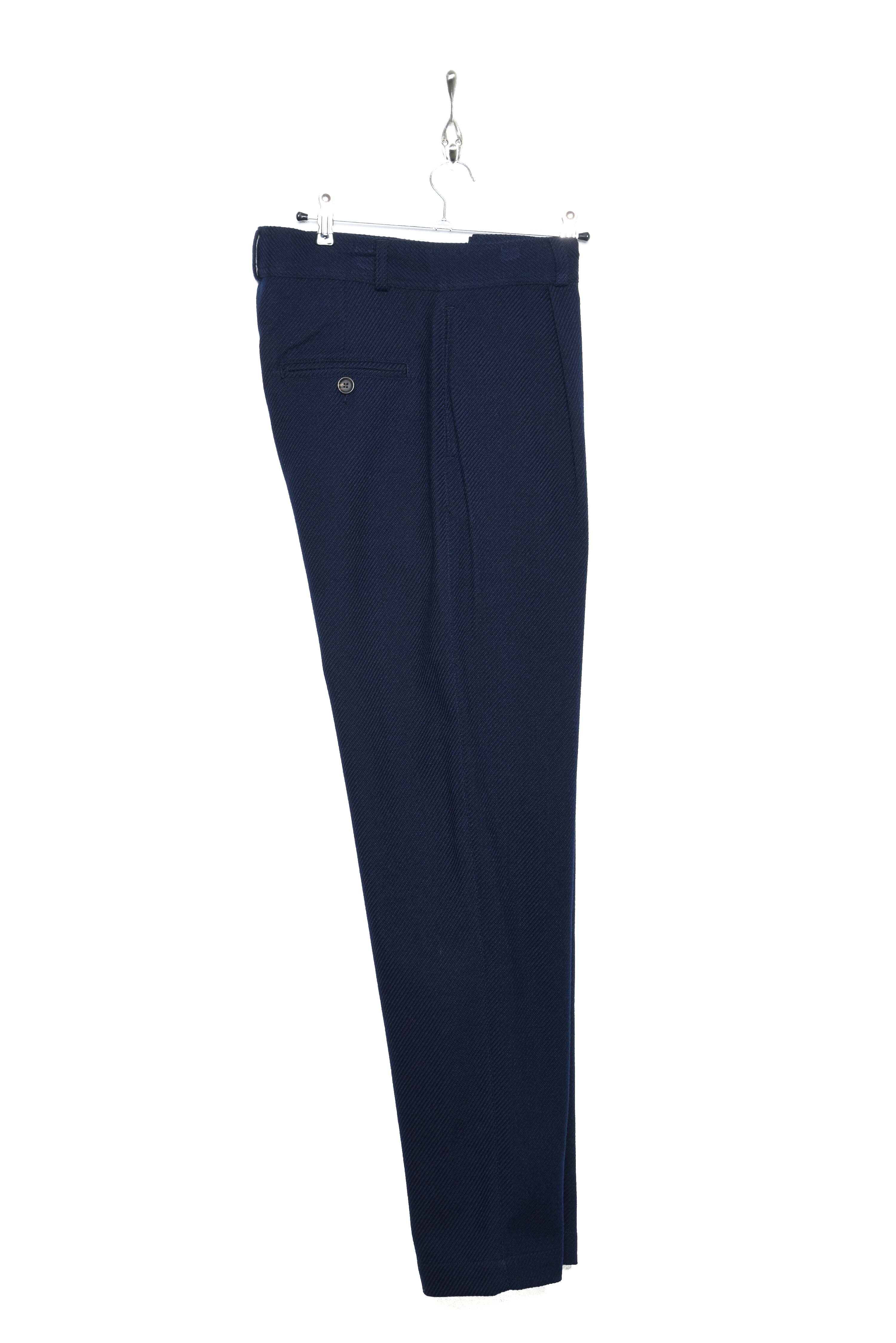 Pleated Trousers buttress navy
