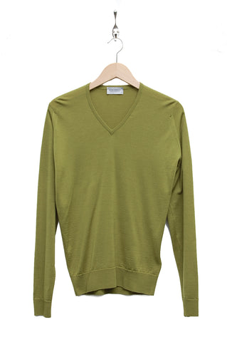 John Smedley Blenheim Pullover lumsdale green