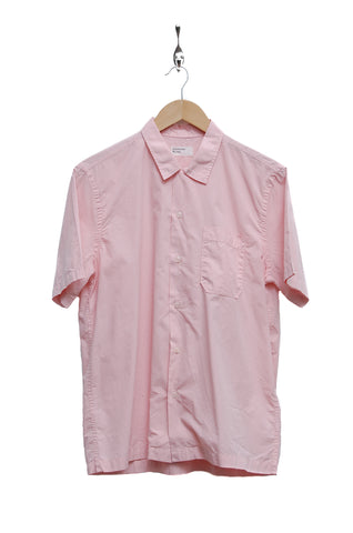 Universal Works Road Shirt poplin strawberry 18665