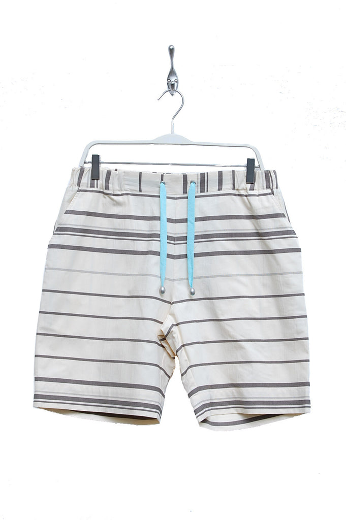 Macarons Shorts Summer Cotton earl grey/offwhite