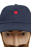 Brosbi The Icon Cap heart red