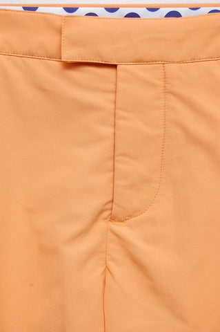 Frescobol Carioca Trunks Tailored Long orange