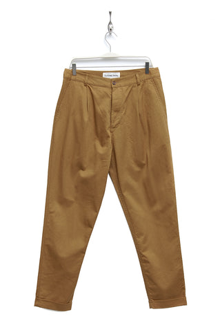 Universal Works Pleated Pant camel 17224