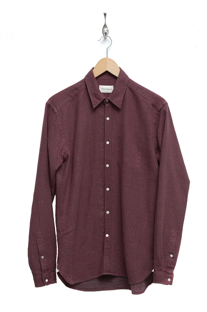 Oliver Spencer New York Special Shirt tucker red