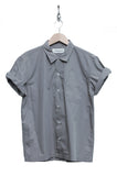 Universal Works Road Shirt Poplin dark stone 16665