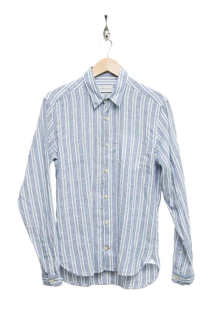 Oliver Spencer New York Special Shirt elmore blue