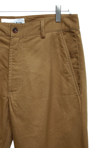 Universal Works Aston Pant Twill camel 17130