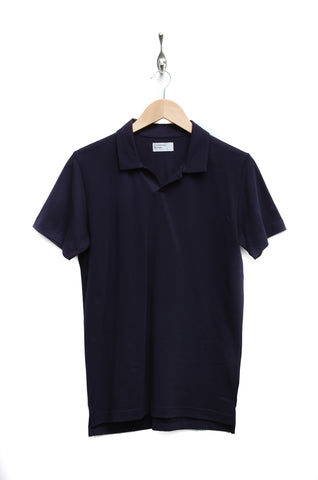 Universal Works Piquet Shirt navy 18691