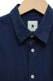 Delikatessen D715/340AB Feel Good Shirt navy chenille
