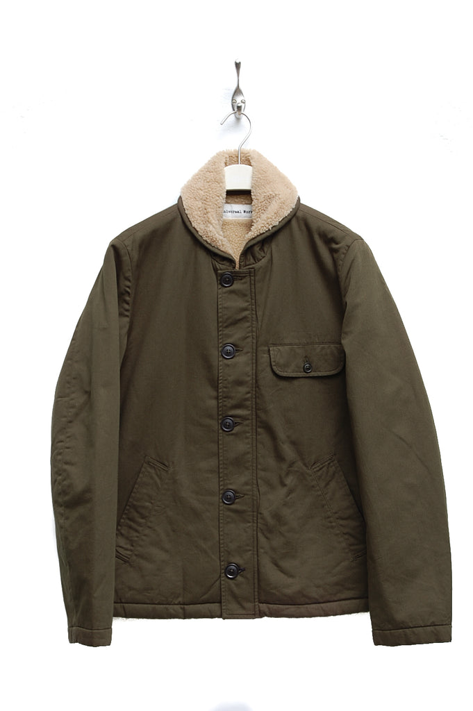 Universal Works N1 Jacket twill military olive