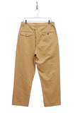 Universal Works Double Pleat Pant Twill sand 16131