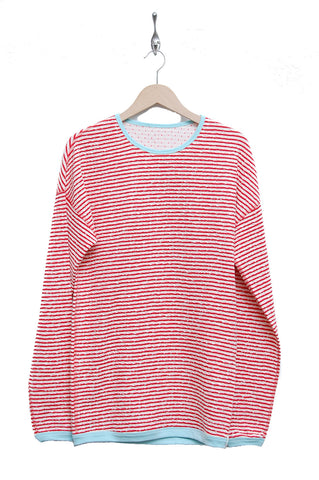 Macarons Pullover Crash Light coral/offwhite