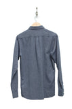 Knowledge Cotton Apparel 90607 Melange Twill Shirt total eclipse