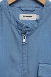 La Panoplie Zipped Shirt chambray