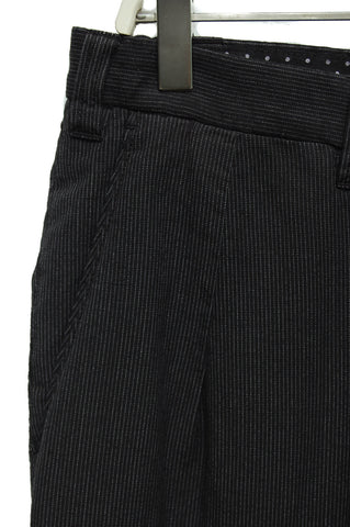 Borelio Bradley3 TF0580 black pinstripes