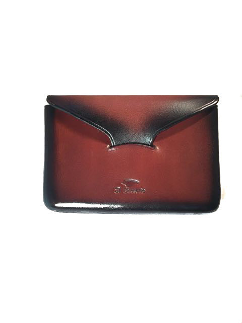 Il Bussetto Envelope Card Case chestnut