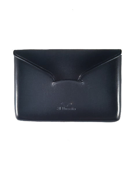 Il Bussetto Envelope Card Case blue grey