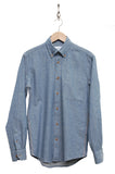 Tripl Stitched Chambray Herringbone