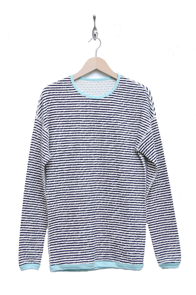 Macarons Pullover Crash Light navy/offwhite