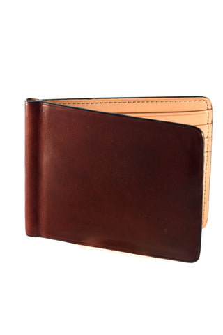 Il Bussetto Bi-fold Wallet with Coin Pocket Black