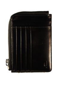 Il Bussetto Large Zipped Wallet black
