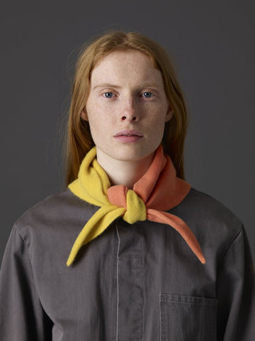 Jo Gordon Half Half Triangle Neckerchief corona & medusa