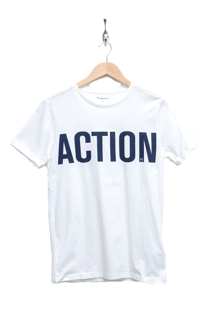 Knowledge Cotton Apparel Action Tee
