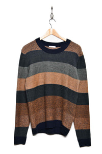 Knowledge Cotton Apparel O-Neck Knit 80572 1278 green forest