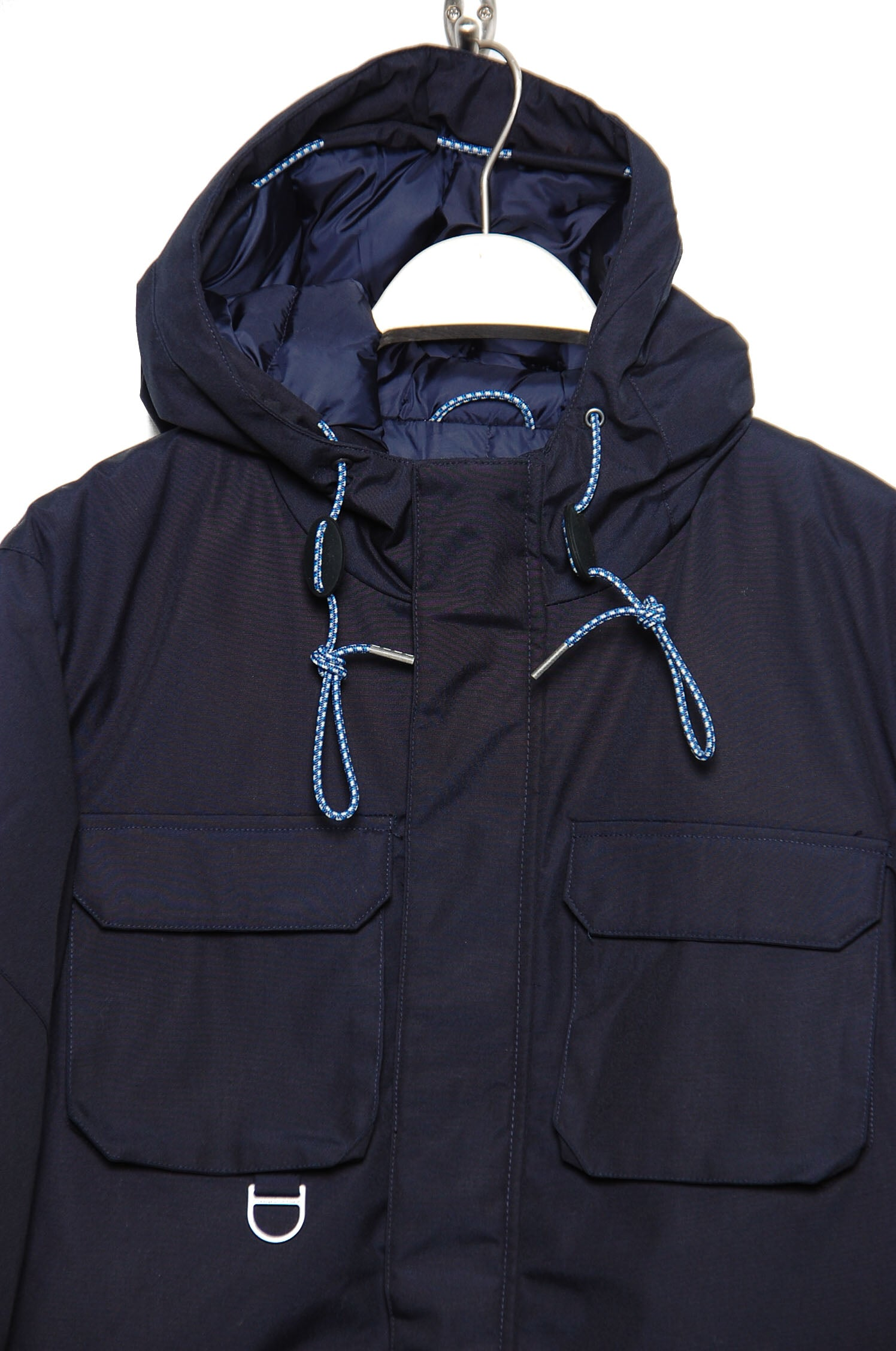 Knowledge Cotton Apparel Heavy Parka total eclipse (dark navy)