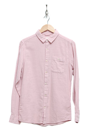Knowledge Cotton Apparel Slope Yarn Shirt 90699 pale mauve