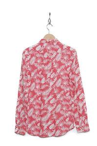 Knowledge Cotton Apparel All-over Print Linen 90740 spiced coral 1262