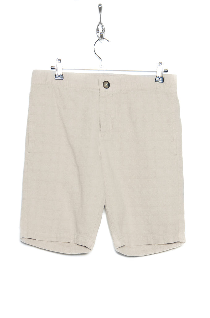 Knowledge Cotton Apparel Loose Shorts 50155 light feather gray