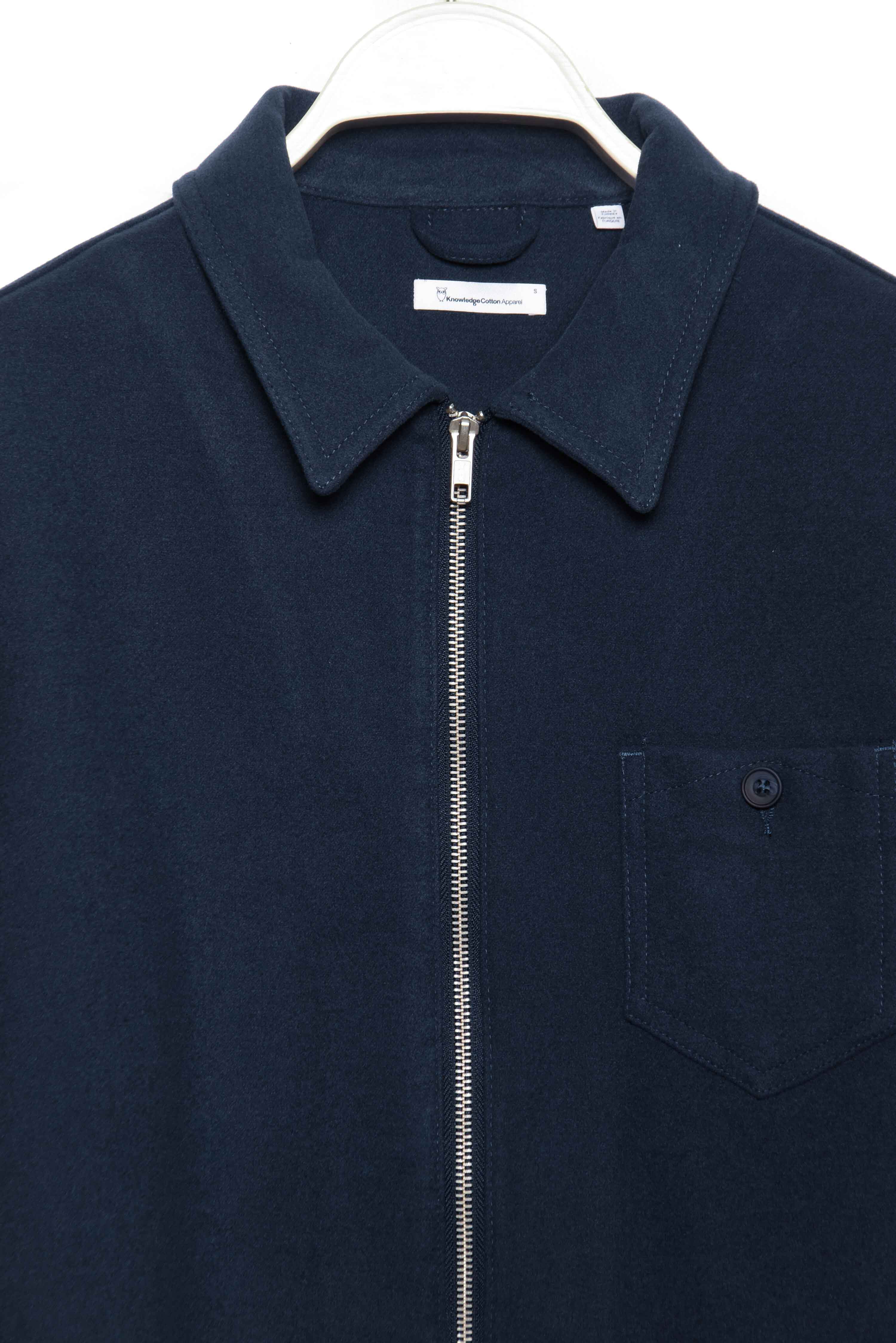 Pine Brushed Overshirt 94036 total eclipse